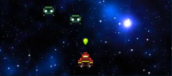 Gosu Galaxian snapshot