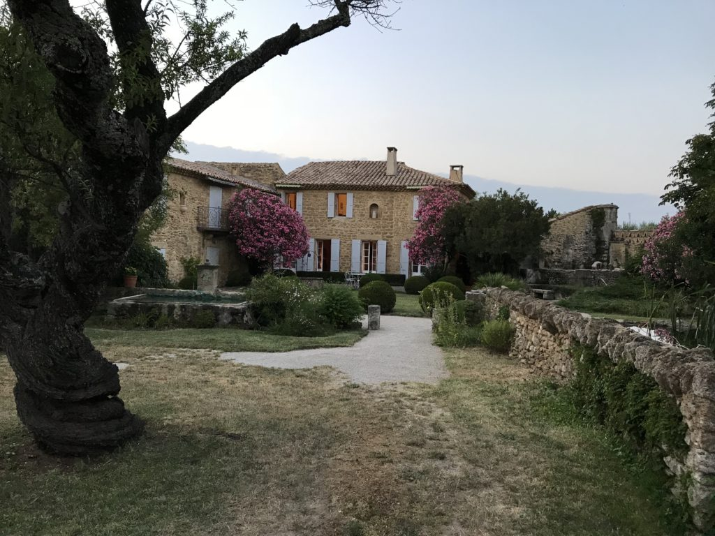 Our house in Serignan-du-Comtat